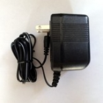 9 VAC, 2.5mm plug, 1,000mA Power Adaptor
